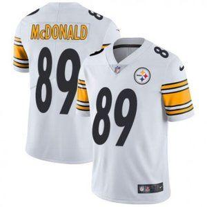 Steelers Vance McDonald White Jersey